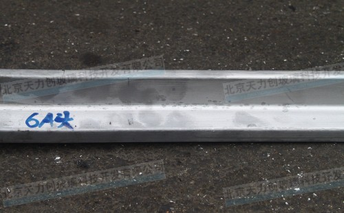 Used for hot extrusion of titanium alloy section bar