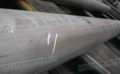 Used for hot extrusion of titanium alloy tube