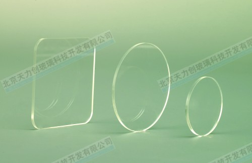 Photomultiplier window sealing glass